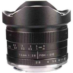 7ARTISAN LENS 7,5mm f2.8 for SONY E-Mounth APS-C