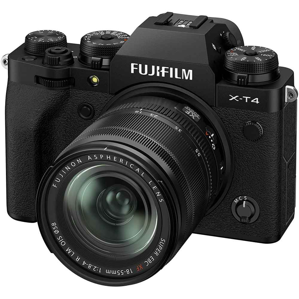 FUJIFILM X-T4 KIT XF18-55mm F2.8-4 R LM OIS BLACK