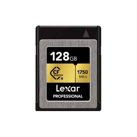 LEXAR CFexpress card 128GB Professional tybe B 1750 read 1000 write 4K