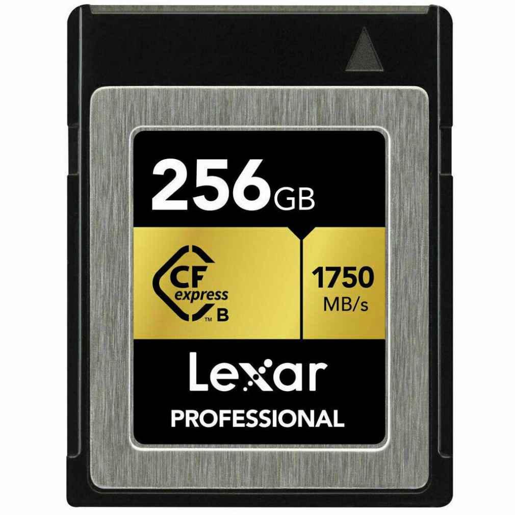 LEXAR CFexpress card 256GB Professional tybe B 1750 read 1000 write 4K