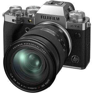 FUJIFILM X-T4 SILVER XF 16-80mm f4 R OIS WR