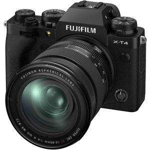 FUJIFILM X-T4 BLACK XF 16-80mm f4 R OIS WR