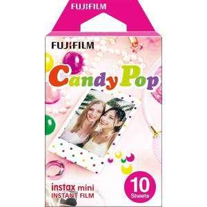 Fujifilm Pellicola Istantanea Instax Mini Candy Pop 10 foto