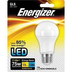 ENERGIZER S8884 Lampadina LED 75W Bianco 11,6W WARM WHITE E27