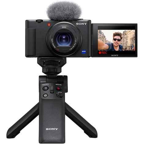 Sony Vlog Camera ZV-1 Vlog + GP-VPT2BT Shooting Grip Bluetooth