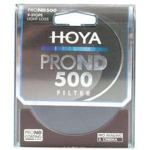 Filtro Hoya PRO ND 500 9 stops light loss 77mm diam