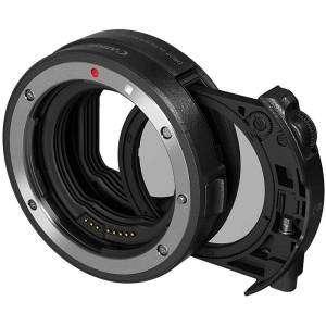 Canon Adattatore EF-EOS R Control Ring  Filtro Polarizzatore Circolare Drop-In