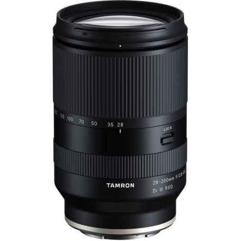 TAMRON 28-200mm f2,8-5,6 Di III RXD for SONY E-Mounth