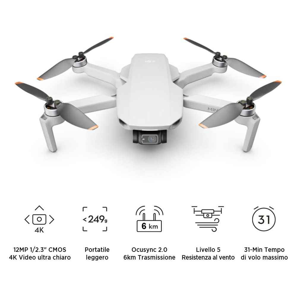 DJI Mini 2 Drone Camera 4K