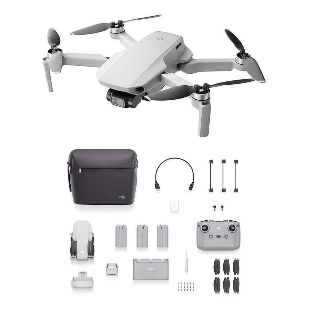DJI Mini 2 Fly More Combo Drone Camera 4K