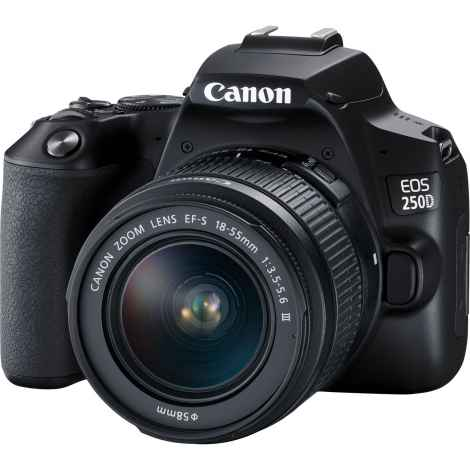 Canon EOS 250D Kit EF-S 18-55 III f/3.5-5.6 Black