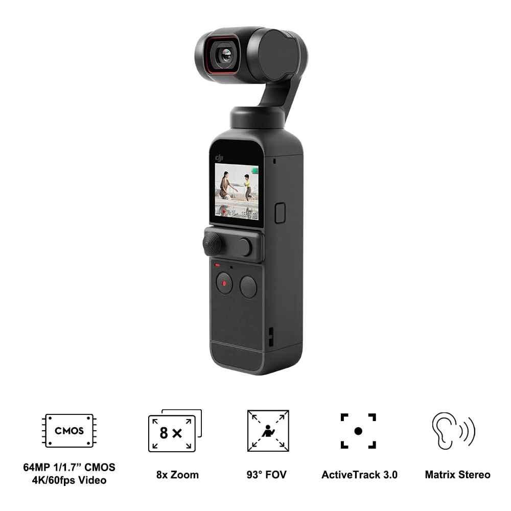 DJI Pocket 2 Creator Combo Action Cam 4K 60p Gimbal