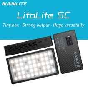 Nanlite Litolite 5C RGBWW luce LED portatile 7w