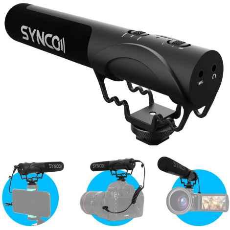 Synco Mic-M3 Microfono Shotgun On Camera