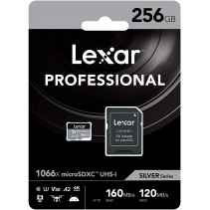 microSDXC Card 256GB High-Performance 1066x