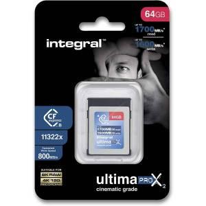 Integral 64GB UltimaPro CFEXPRESS Card 1700MB/s