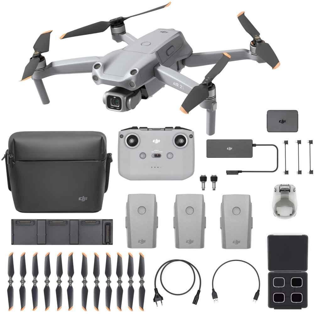 DJI AIR 2S More Combo Drone Garanzia Fowa