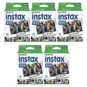 Fujifilm Instax Wide 5 Pellicole instant film 50 FOTO