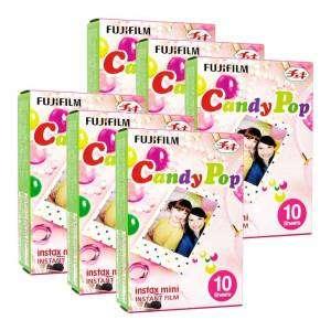 Fujifilm 6 Pellicole Istantanea Instax Mini Candy Pop 60 foto