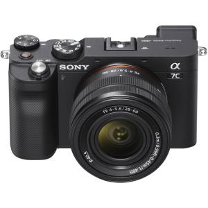 Sony Alpha A7C Black FE...