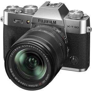 Fujifilm X-T30 II Silver XF 18-55mm f2.8-4 R LM OIS