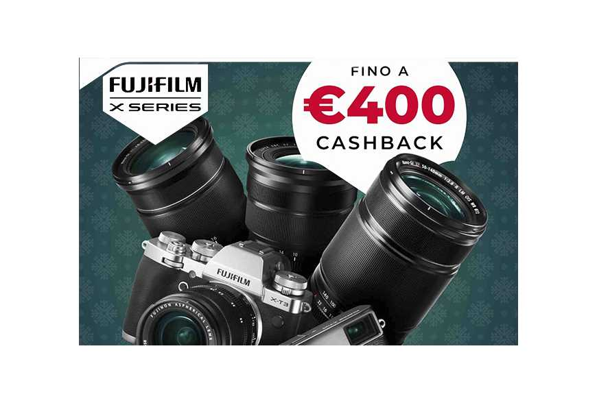 CashBack Fujifilm 2019/2020 Carry More for Less